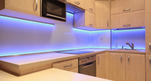 Colorful contemporary kitchen light fixtures #kitchenlightingideas #kitchencabinetlighting