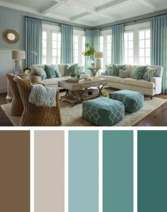 Incredible 57 Living Room Color Schemes To Make Color Harmony In Yours Download Free Architecture Designs Embacsunscenecom