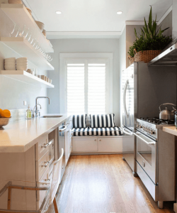 Beautiful small kitchen decorating ideas #smallkitchenremodel #smallkitchenideas