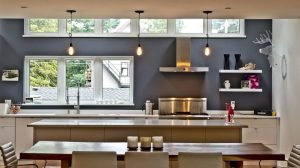 Lovely bright kitchen pendant light #kitchenlightingideas #kitchencabinetlighting