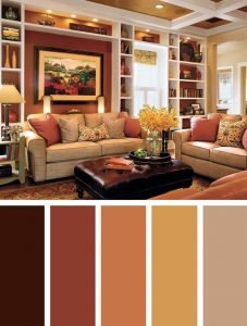 Mocha Sofa Living Room Ideas, 57 Living Room Color Schemes To Make Color Harmony In Yours