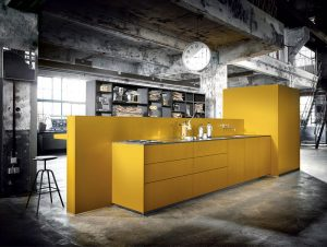 Cool contemporary kitchen design #kitcheninteriordesign #kitchendesigntrends
