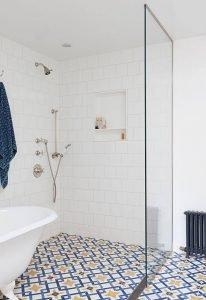Wondrous bathroom tile ideas floor #bathroomtileideas #showertile #bathroomtilefloor