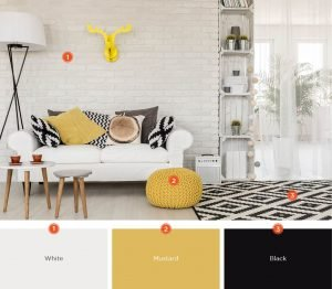 Colorful modern paint colors for living room #livingroomcolorschemes #livingroomcolorcombination