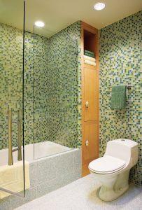 Eye-opening undefined #bathroomtileideas #showertile #bathroomtilefloor