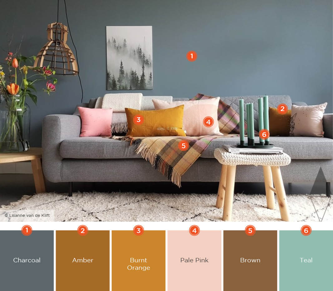 57 Living Room Color Schemes To Make, Color For Living Room