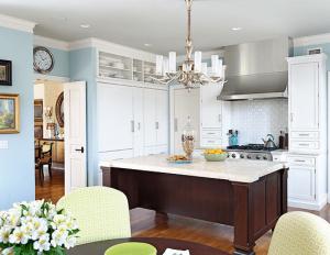 Popular contemporary kitchen design #smallkitchenremodel #smallkitchenideas