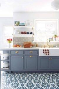 Wonderful model kitchen #smallkitchenremodel #smallkitchenideas