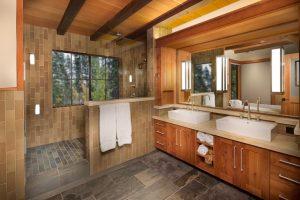 Great basement half bathroom ideas #halfbathroomideas #smallbathroomideas #bathroomdesignideas