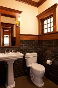 Trending cabin bathroom design #halfbathroomideas #smallbathroomideas #bathroomdesignideas