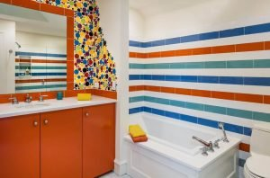 Life-changing bath tub tile #bathroomtileideas #showertile #bathroomtilefloor