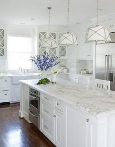 Popular farmhouse kitchen lighting ideas #kitchenlightingideas #kitchencabinetlighting