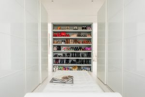 Unique wardrobe storage closet #walkinclosetdesign #closetorganization #bedroomcloset
