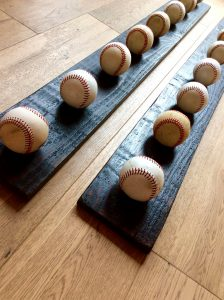 Unleash diy baseball hat rack #diyhatrack #hatrackideas #caprack #hanginghatrack