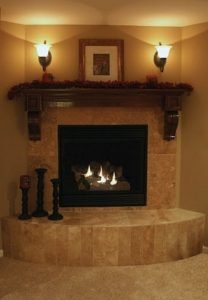 Astounding corner wood burning fireplace ideas #cornerfireplaceideas #livingroomfireplace #cornerfireplace