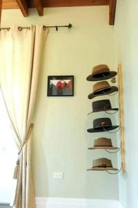 Astonishing hat rack ideas #diyhatrack #hatrackideas #caprack #hanginghatrack