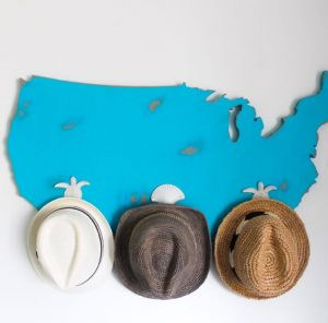 Staggering cowboy hat rack ideas #diyhatrack #hatrackideas #caprack #hanginghatrack