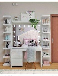 Awesome makeup organizer box #makeuproomideas #makeupstorageideas #diymakeuporganizer