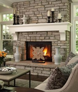 Delight corner freestanding fireplace ideas #cornerfireplaceideas #livingroomfireplace #cornerfireplace