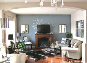 Epic corner gas log fireplace ideas #cornerfireplaceideas #livingroomfireplace #cornerfireplace