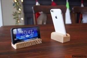 Staggering cell phone stand for desk #diyphonestandideas #phoneholderideas #iphonestand