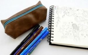 Miraculous school pencil case ideas #DIYpencilcase #pencilpouch #zipperedpencilpouch