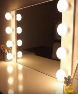 Miraculous white vanity mirror ideas #diyvanitymirror #vanitymirrorideas #vanityroom