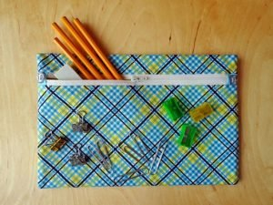 Unique pencil case diy no sew #DIYpencilcase #pencilpouch #zipperedpencilpouch
