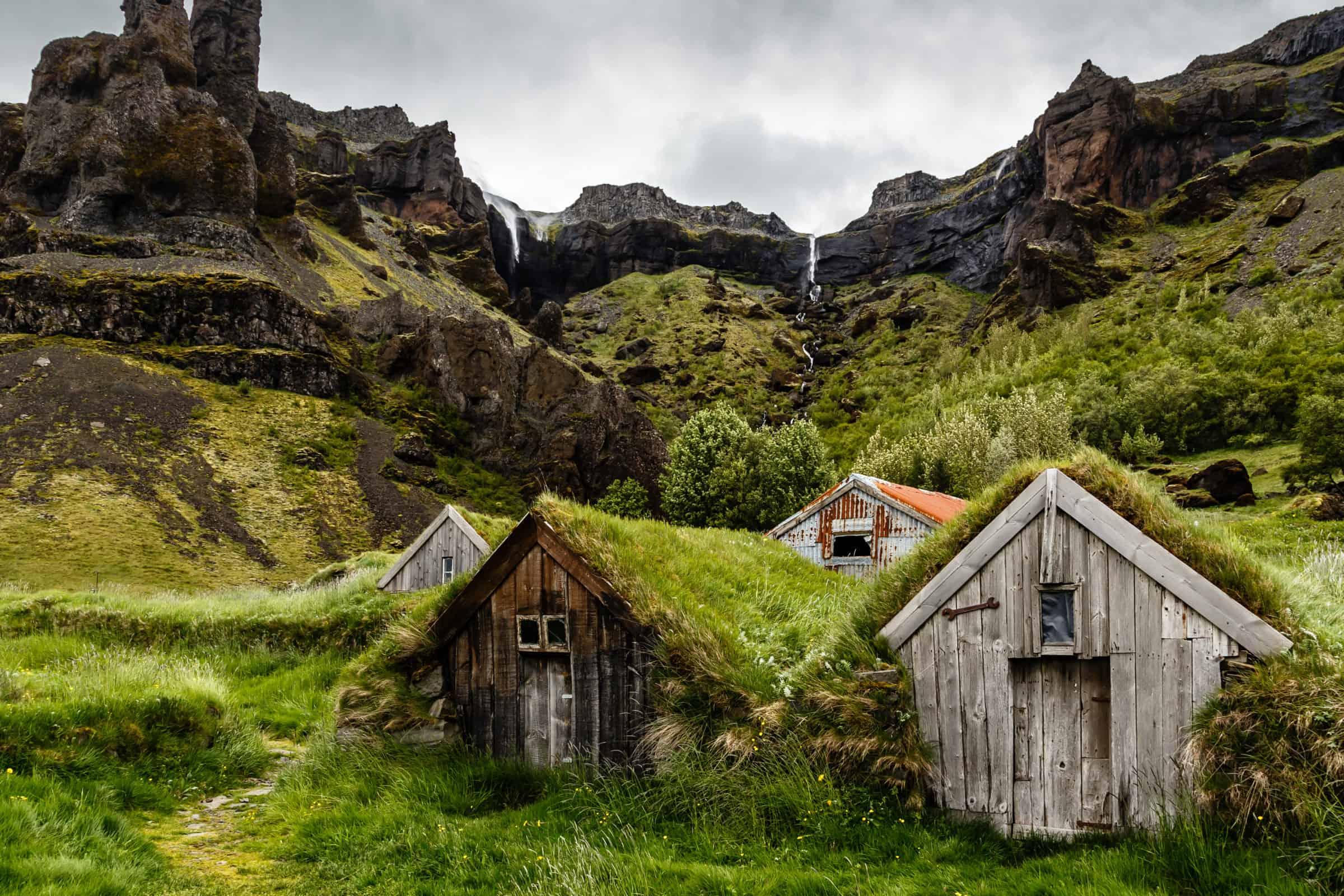 iceland turf house