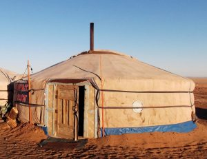 yurt houses from central asia