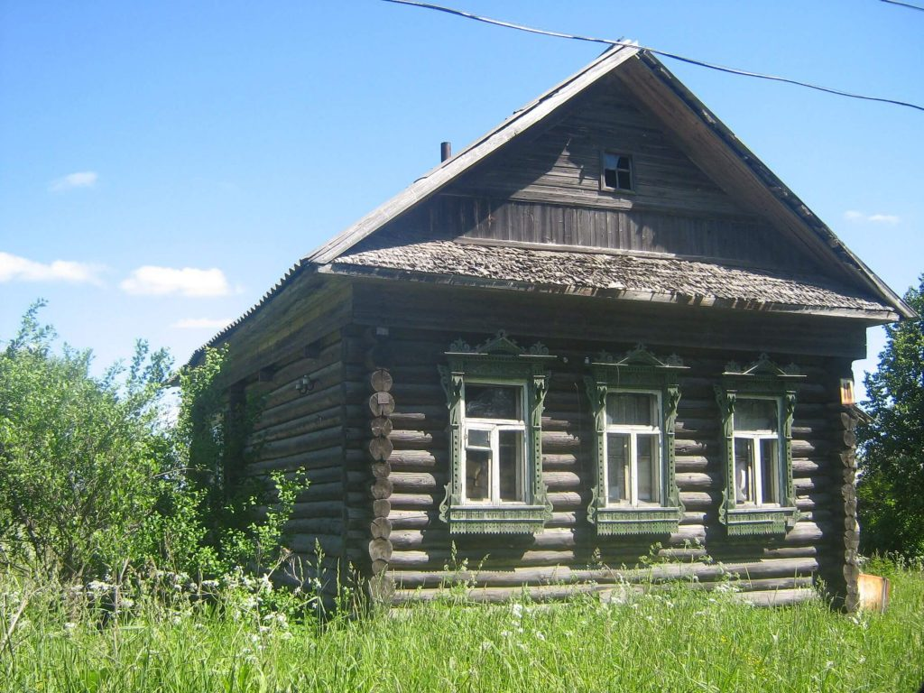 izba types of houses from russia