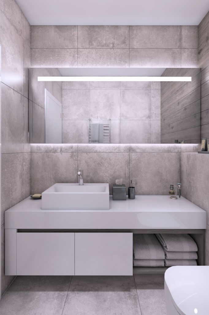 wall bathroom mirrors ideas