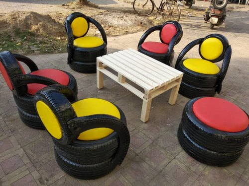 diy old tires recycle