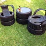 diy old tires