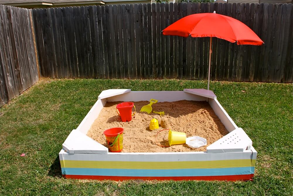 sandpit planning for the summer