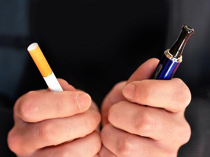 vaping or smoking affect the skin